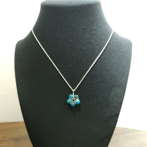 Apatite Pentacle Necklace