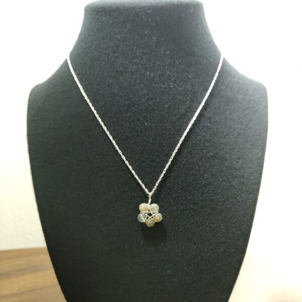 Labradorite Pentacle Necklace
