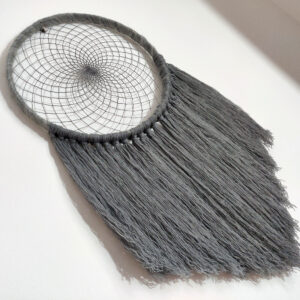 Grey large dreamcatcher